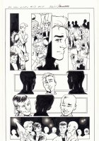 All-New X-Men #13 p.4 - Iceman, Genesis (Kid Apocalypse Clone), & Oya at a Gay Club in Miami - 2016 Signed Comic Art