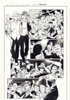 All-New X-Men #13 p.5 - Iceman and Genesis (Kid Apocalypse Clone) Dance at a Gay Club in Miami - 2016 Signed Comic Art