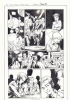 All-New X-Men #13 p.6 - Genesis (Kid Apocalypse Clone) Break Dancing - Iceman and Oya at a Gay Club in Miami - 2016 Signed Comic Art