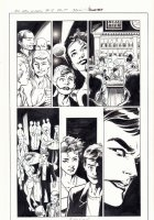 All-New X-Men #13 p.7 - Genesis (Kid Apocalypse Clone) Break Dancing - Iceman and Oya at a Gay Club in Miami - 2016 Signed Comic Art