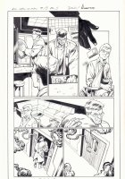 All-New X-Men #13 p.3 - Beast and Cyclops in Lab - 2016 Signed Comic Art