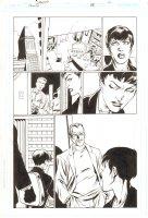 Trinity #24 p.12 - Freddie (Alfred Pennyworth), Jimmy Olsen, & Lois Lane - 2008 Signed by Mark Bagley Comic Art