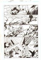 Trinity #16 p.12 - Superman, Batman, & Wonder Woman vs. Enigma & Despero Action - 2008 Comic Art