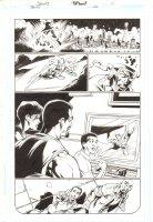Trinity #20 p.11 - Firestorm and Superman Flying - 2008 Comic Art