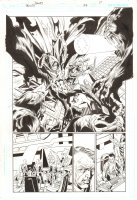 Trinity #22 p.17 - Ragman and Tatters Action Splash - 2008 Comic Art