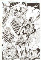 Trinity #27 p.3 - Flash and Others Saving People Splash - 2008 Comic Art