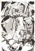 Trinity #21 p.8 - Morgan le Fay Splash - 2008 Comic Art
