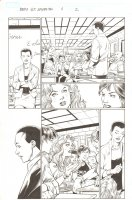 BBDO Campbell's Diversity: Ultimate Spider-Man/Ultimate X-Men #1 p.2 - Peter, MJ, and Liz Allan in Class - 2009 Comic Art