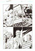 Trinity #25 p.1 - Tarot - 2008  Signed by Mark Bagley Comic Art