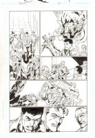 Trinity #24 p.6 - Justice Society International - 2008 Comic Art