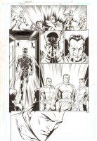 Trinity #24 p.10 - Justice Society International - 2008 Comic Art
