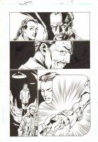 Trinity #19 p.7 - Alfred & Lois - 2009 Comic Art