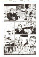 Trinity #1 p.5 - Bruce Wayne & Clark Kent - 2008 Comic Art