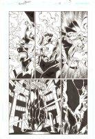 Trinity #17 p.5 - Enigma and Despero - 2009 Comic Art