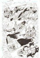 Trinity #26 p.9 - Crazy Montage - 2009 Comic Art