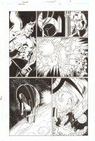 Trinity #13 p.8 - Enigma, Despero, and Crazy Head Spaceship - 2009  Comic Art