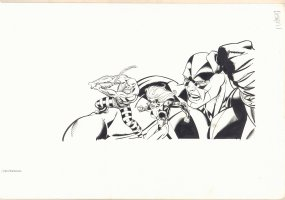 Absorbing Man Design 1 Promotional Art  Comic Art