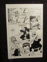 Planet Of The Apes #? p.14 Mongo vs Ninja Ape Comic Art
