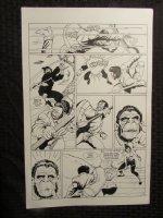 Planet Of The Apes #? p.16 Mongo vs Female Ninja Ape Comic Art
