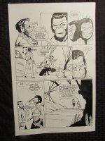 Planet Of The Apes #? p.17 Mongo & Female Ninja Ape Comic Art