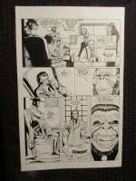 Planet Of The Apes #? p.18 Ganster Apes Comic Art