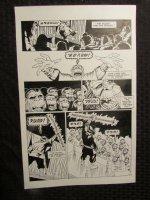 Planet Of The Apes #? p.20 Dr. Benday Krak Comic Art