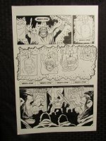 Planet Of The Apes #? p.21 Dr. Benday Chant Comic Art