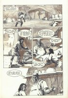 Planet of the Apes #? p.9 - Small Business Comic Art