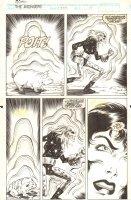 Avengers, The #354 p.15 - The Legion of the Unliving, Nebulon the Celestial Man, and Sersi - 1992 Comic Art