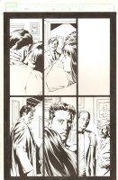 Amazing Spider-Man #521 p.13 - Tony Stark, Peter, & MJ - 2005 Signed Comic Art