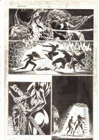 Elektra #15 p.15 - Elektra & Yukio vs. the Hand - 1998 Signed Comic Art