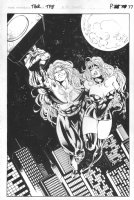 Thor Trade Paperback p.77 - Flying with babe 100% Splash Comic Art