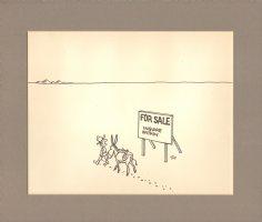 Lost in Desert - For Sale Gag  Comic Art