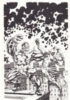 Deadpool vs. Thanos #1 BAM! Variant Cover - Awesome Classic Jim Starlin Captain Marvel #33 Homage - 2015 Signed