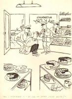 Bakery Robbery / Police Gag - 1958 Humorama  Comic Art