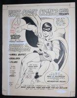 West Coast Comics Club Presents Our Special Guest: Forrest j. Ackerman! - LA - Double Signed Comic Art