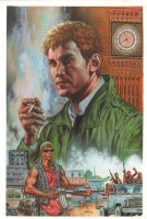 Hellblazer #240 Painted Art Cover - John Constantine - 2008