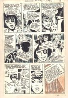 Adventure Comics #405 p.6 - Starfire (Supergirl Enemy) - 1971 Comic Art