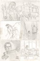 She-Hulk Pencil Prelim - She-Hulk Tosses Head - Signed Comic Art