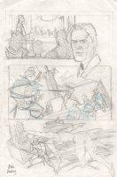 She-Hulk Pencil Prelim - She-Hulk Action - Signed Comic Art