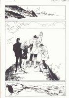 Lori Lovecraft: My Black Pages p.13 - Ashes Splash - 2007 Comic Art