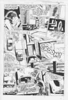 She-Hulk #11 p.16 Crazy Driver Comic Art