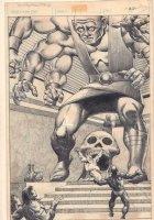 Savage Sword of Conan #59 p.34 - Awesome Giant Splash - 1980 Comic Art