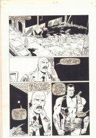 Bloodshot Last Stand #1 p.19 - Bloodshot and Harold - 1996 Signed Comic Art