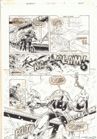 Bloodshot Last Stand #1 p.36 - Crazy Mecha - 1996  Comic Art