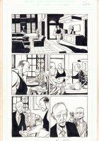 Damned #2 p.10 - Gunpoint at Breakfast - 1995 Signed  Comic Art