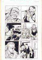 Damned #2 p.11 - Murder - 1995 Signed  Comic Art