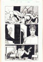 Damned #2 p.13 - Prison Shank - 1995 Signed  Comic Art