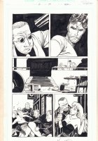 Damned #2 p.19 - Gunpoint and Babe - 1995 Signed  Comic Art