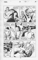 Challengers of the Unknown #18 p.19 Chokes Babe Comic Art